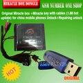 Envío gratis 2016 Original de la caja + Milagro Milagro clave con cables (1.88 actualización caliente) para teléfonos móviles de china desbloquear Desbloquear + Reparación