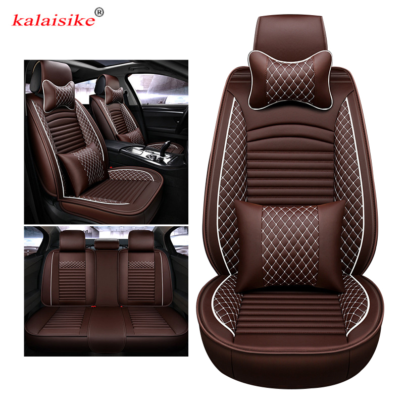 Kalaisike Leather Universal Auto Seat Covers For Chrysler