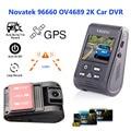 """Original A119 2.0"""" LCD Rotatable Lens Capacitor Novatek 96660 HD 2K 1440p 1080P Car Dashcam Camera DVR with GPS Dash Cam"""