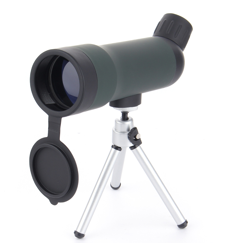 Cheap 20x50  Spotting Scope HD Monocular Outdoor Telescope With Portable Tripod monoculares 20*50 Professional telescope DH113 professional spotting scope with portable tripod hd monocular telescope 12 36x50 spotting scopes for hunting birdwatching