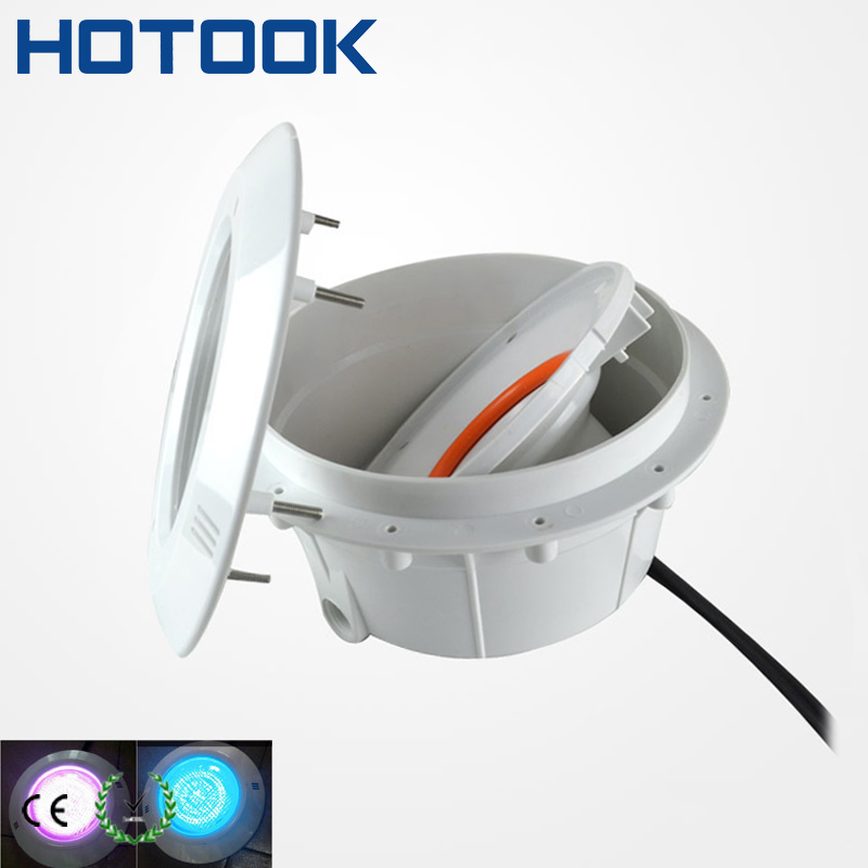 IP68 Étanche PAR56 LED Piscine Lumière Éclairage Extérieur Doublure luminaire niche pour béton piscine piscina pesca acesorios