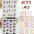 1X Hot 11 Designs Nail Art Water Transfer Stickers Decals Cartoon Princess Decoration for Beauty Nail Wraps Tools BLE489-499