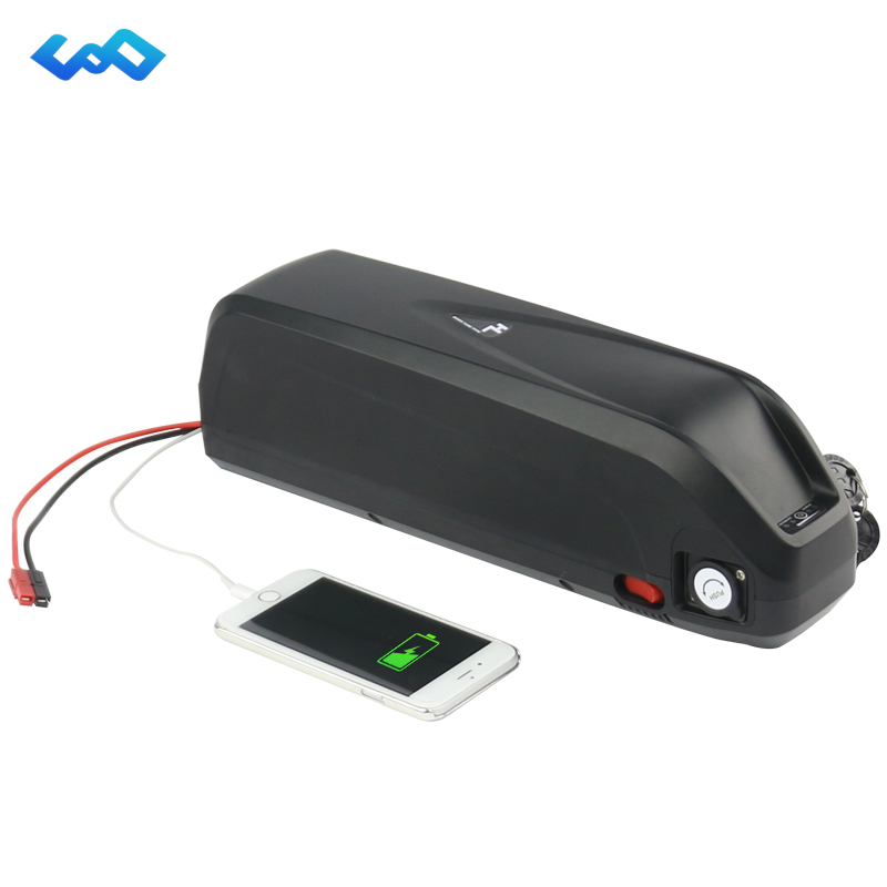 Free Tax Sanyo GA cell 52V 17.5Ah New Hailong Battery 14S5P 1000W High Power Down Tube eBike Lithium ion Battery+Charger free customs taxes super power 1000w 48v li ion battery pack with 30a bms 48v 15ah lithium battery pack for panasonic cell
