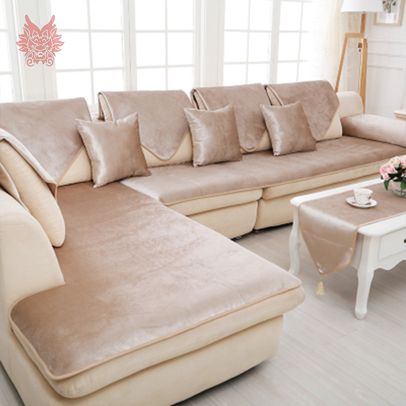 70*180cm 1pc American Grey/camel/red Solid Velvet Sofa Cover Flannel Plush  Slipcovers For Leather Sofa Warm Winter Canape SP2533 In Sofa Cover From  Home ...