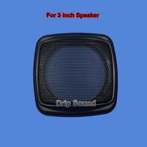 "Image 3 - For 3""/4""/5""/6"" inch Car Audio Speaker Conversion Net Cover Decorative Circle Metal Mesh Grille"