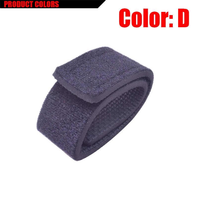 1Pcs Herbruikbare Hengel Tie Houder Strap Bretels Sluiting Haak Lus Kabel Cord Ties Riem Visgerei Doos Accessoires