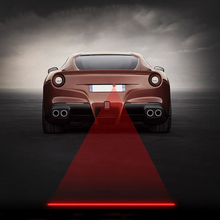 Anti Collision Rear-end Car Fog Light Auto Brake Parking Lamp Rear Warning Light Car Laser Lamp 5 patterns Available