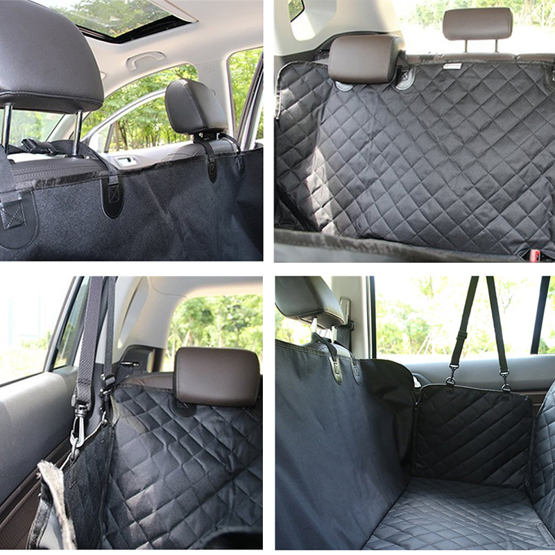 Pet Car Seat Covers For Big Dogs Waterproof Back Bench Seat Car Interior Travel Accessories Dog Carriers Car Seat Covers Mat 5
