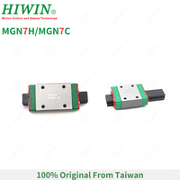 Free Shipping HIWIN MGN7H Long Carriages MGN7C Standard Block MGN7 Series suitable for MGN7 Rails