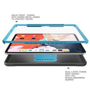 Image 4 - Uyumlu Apple iPad için iPad Pro 12.9 için kılıf (2018) SUPCASE UB PRO tam vücut kapak ile ekran koruyucu ve Kickstand