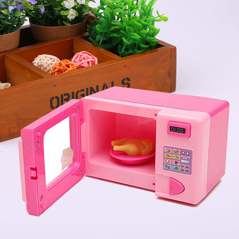 Simulate Oven Play House Education Toy Kitchen Liance Toaster Pretend Cooking China