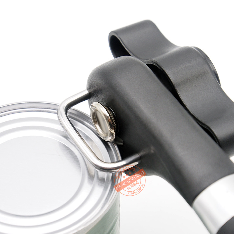 Cans Opener Professional Heavy Duty Safety Lid LifterErgonomic Manual Can Opener Side Cut Manual Can Opener Kitchen Tools