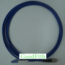 цена на Armoured armored Patch Cord Cable FC-LC UPC SM Simplex GoodFtth 100-500m