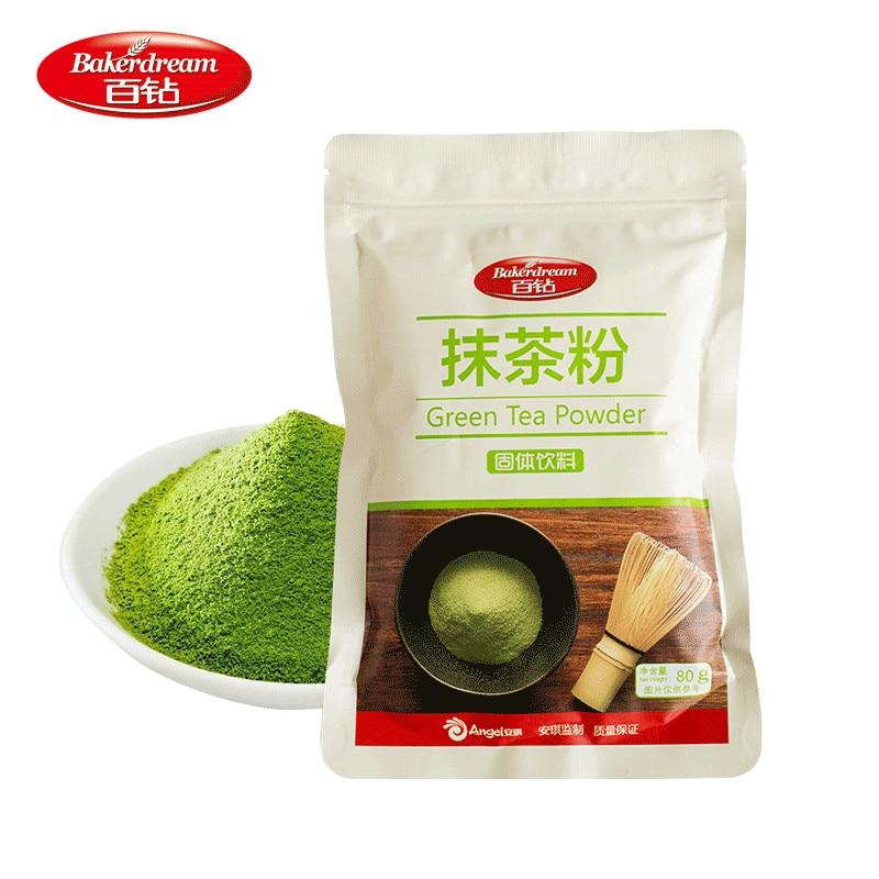 Bakerdream 80 г зеленый чай matcha порошок Срок годности 18 месяцев
