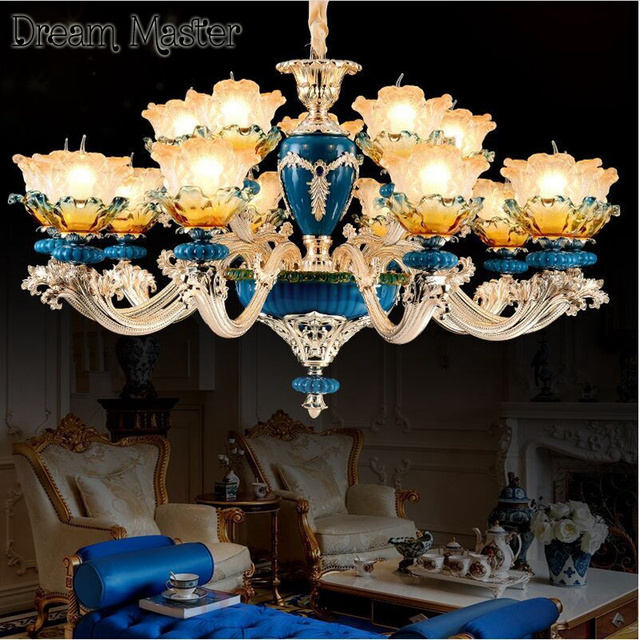 Francese pittura ceramica lampadario soggiorno sala da pranzo camera ...