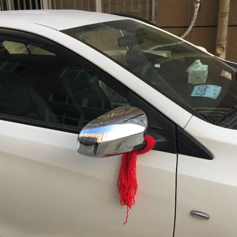 Dikiz aynası Kılıfı Yan Ayna Abs Krom Kapak Toyota Vios 2017 Için