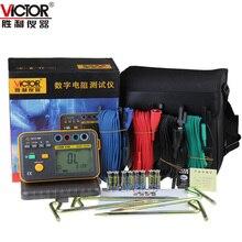 Cheap price VICTOR VC4106 Digital Ground Resistance Tester Lightning Detector 4-Pole Ground Resistance Measurement