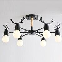 Nordic Wood Modern Ceiling Lamp Light For Home Lighting Living Room Nordic Simple Modern OAK Wood
