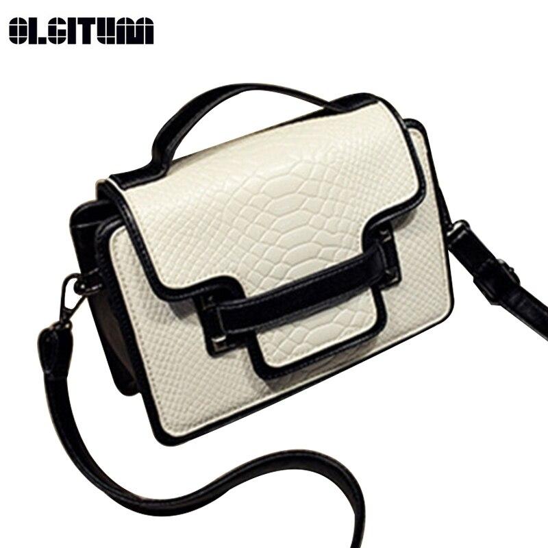 OLGITUM 2017 Hot Sale Women Handbags Cross Body Bags Women Handbag Purse Shoulder Bag Flap Messenger