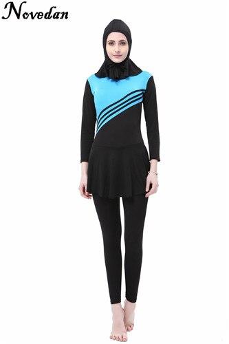 Muslim Swimwear Female Bathing Suit Swimsuit For Women Plus Size Muslim Swimming Beachwear 2017 New Islamic Swimsuit