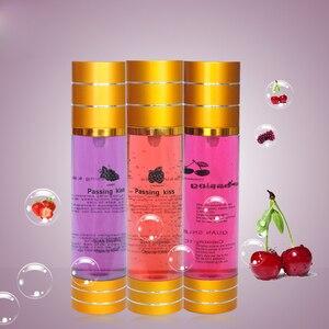 Image 2 - Aceite lubricante grueso a base de agua, Gel Vaginal Anal, productos sexuales, envasado al vacío, cereza, fresa uva, 100ml/30ml
