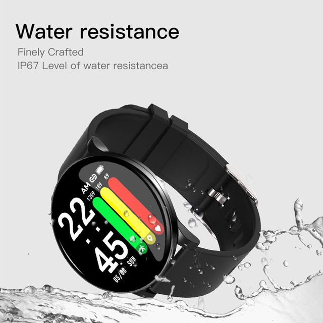 Women Smart Watch Men Waterproof Heart Rate Blood Pressure Monitoring LEMFO Smart Watches Fitness Tracker for Android IOS