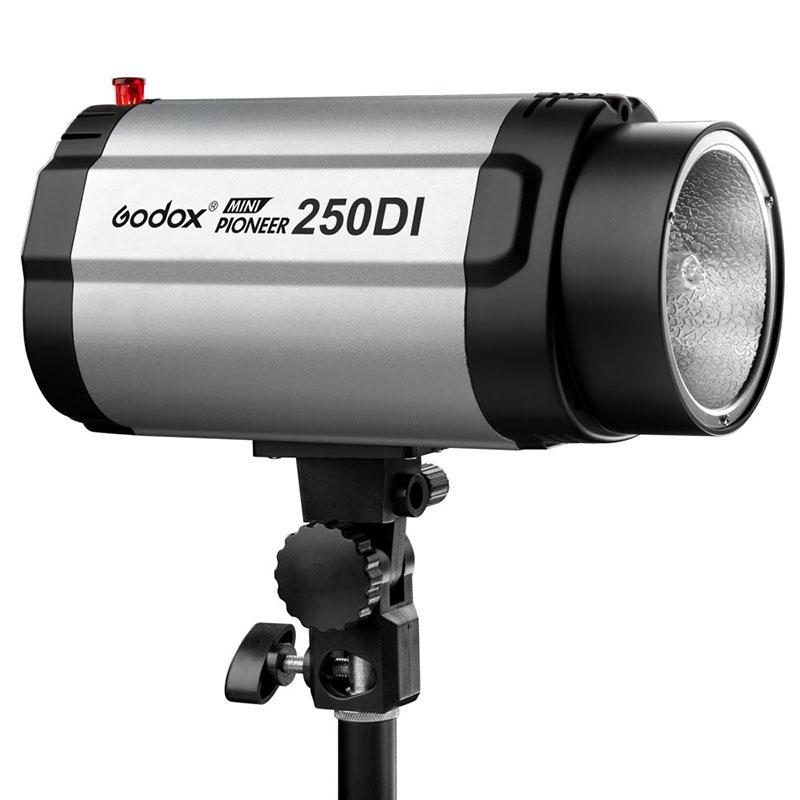 Godox 250DI 250ws Mini Master Photo Studio Flash Monolight lumière stroboscopique avec tête de lampe pour appareil Photo reflex numérique