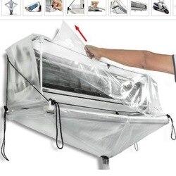 غسالات التنظيف مكيف الهواء أدوات السقف الحائط تكييف الهواء الأنظف DIY بها بنفسك أدوات تنظيف المنزلية غطاء 3 نوع