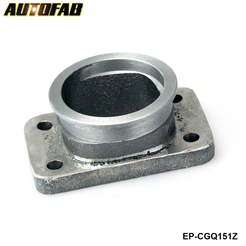 Stainless Steel 2.50 4-Bolt//3.00 V-Band GT35//GT30 Turbo Flange Exhaust Conversion Adapter