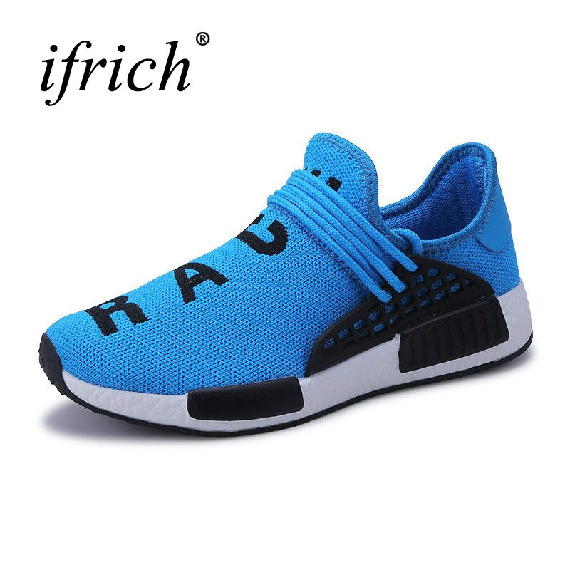 Ifrich New Sneakers Mens Brand Big Size Big Size Black Mens Sports Shoes Cheap Men Gym Shoes Breathable Mens Trainers Shoes