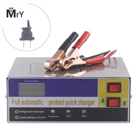 12V 24V Full Automatic Intelligent Battery Charger 110V 220V Smart Pulse Repair Car Auto Motor 12 24 V Volt Voltage 10A