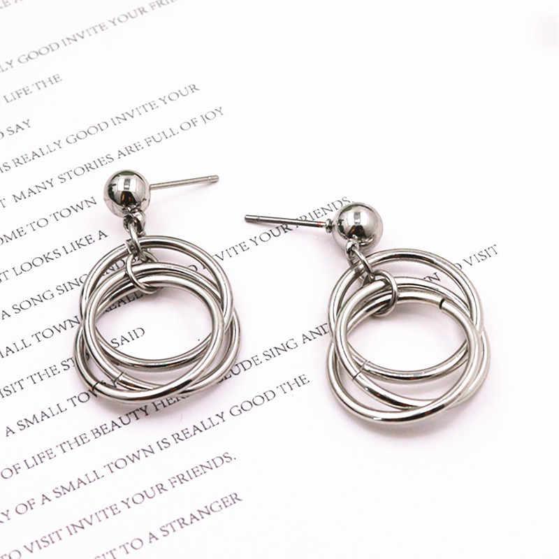 KPOP DNA Korean QUMORAIN V Earrings Studs Bangtan Boys Accesorios Album Earrings Gifts Jewellery Earrings Women Men