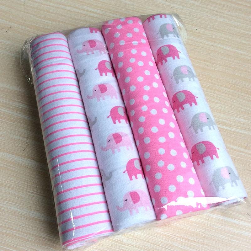 Newborn Baby Bed Sheets 100% Cotton Flannel  Super Soft Crib Sheet Baby Bedding Set Infant Cot Sheets Boys Girls 102 X 76cm