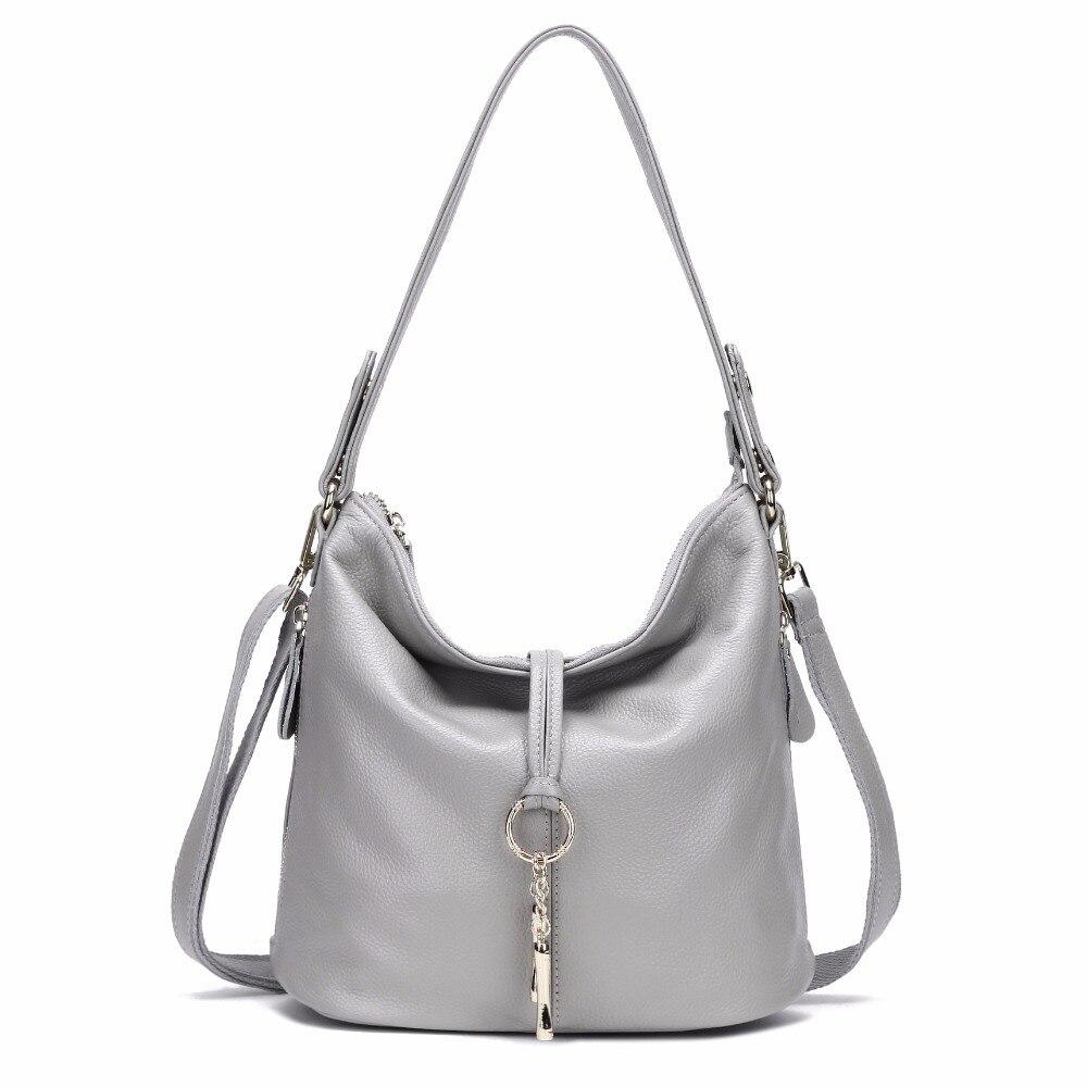 AODUX 2018 New 12 Colors Fashion Designer 100% Genuine Leather Women Small Shoulder Bag Tote Handbag Ladies Messenger Bag Purse Multan