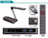 Обучающие Цифровой классе документ визуализатор VGA HDMI 18 M Пиксели USB2.0 5 мега Пиксели HD Настольный визуальный Презентер