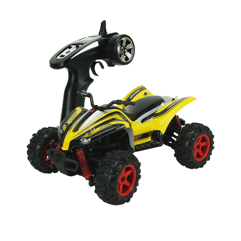 ФОТО rc car 2.4g 4ch 4x4 driving car double motors drive remote control beach motorcycle model off-road vehicle toy