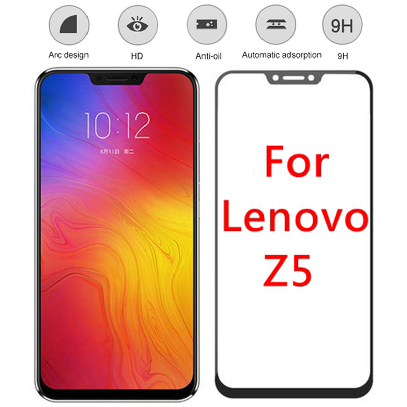 Tempered Glass For Lenovo Z5 Screen Protector Lenovo Z5S L78071 Tempered Glass For Lenovo Z5 L78011 Z 5 Protective Film Full