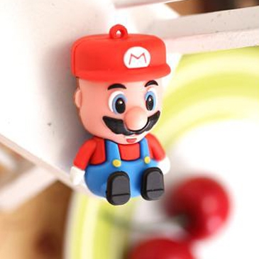 HOT USB Creativo Super Cartoon Figure Mario Pen Drive 1TB 2TB Usb Memory Stick Card 128gb 16gb 32gb 64gb USB Flash Drive 3.0