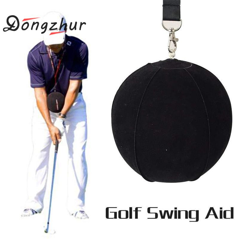 New Golf Smart Inflatable Ball Golf Swing Trainer Aid Assist Postural Posture Correction Training Tool Supplies