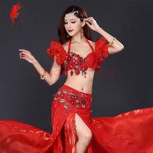 Image 1 - Nuovo Professionale di Danza Del Ventre Abbigliamento Le Donne Orientali costumi di Danza Del Ventre per le Prestazioni di danza del ventre vestito S M L
