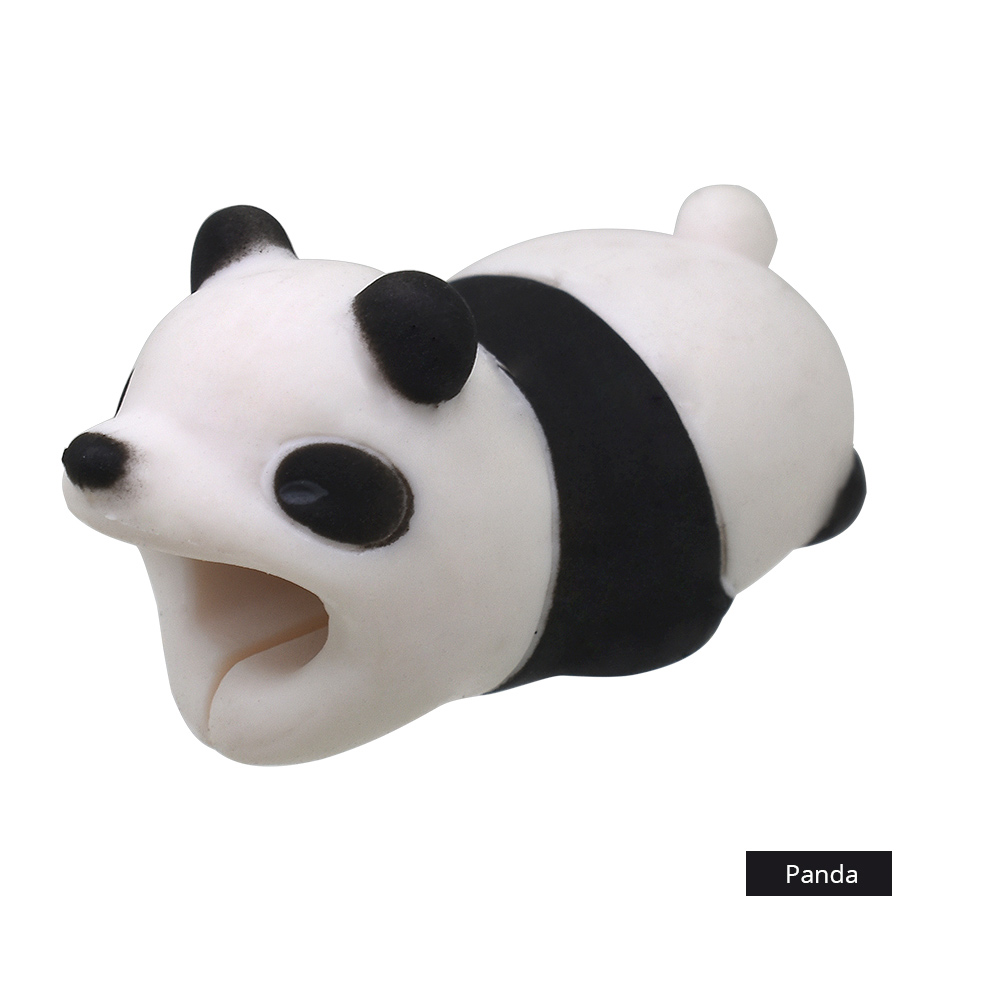 TISHRIC Super Hot Sale Cable Bite Animal Protector For iphone Panda ...