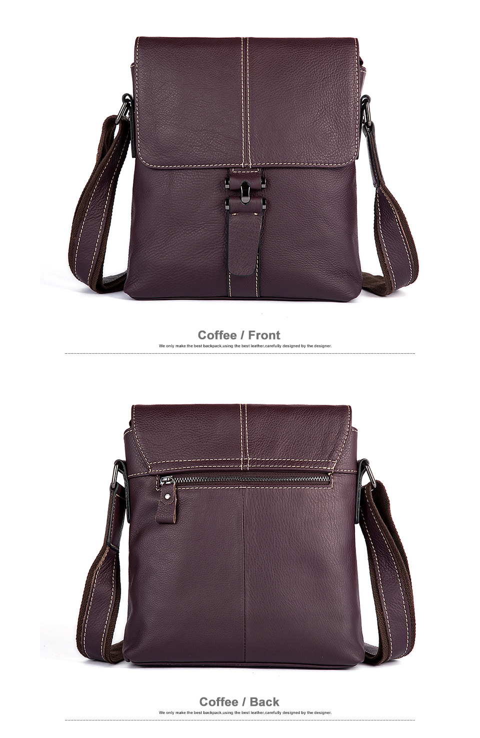 5 crossbody bags for men leather