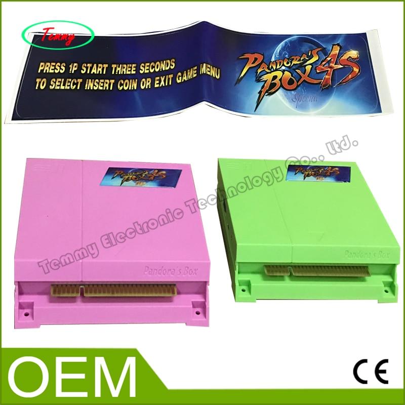 ФОТО Pandora Box 4S HD 680 in 1 Jamma Mutli Game Board Just another Pandora's Box 4 Arcade Jamma Pandora Box 4S