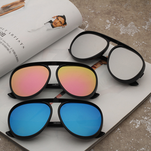 9f745f7394d 2018 New Trendy European American Toad mirror big frame cat eye sunglasses  men and women sun