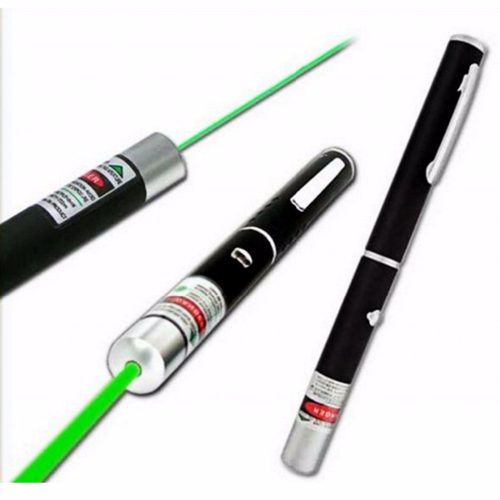 5MW 532nm Green 650nm Red Laser Pen Powerful Laser Pointer Presenter Lazer Hunting Laser Bore Sighter Without Battery