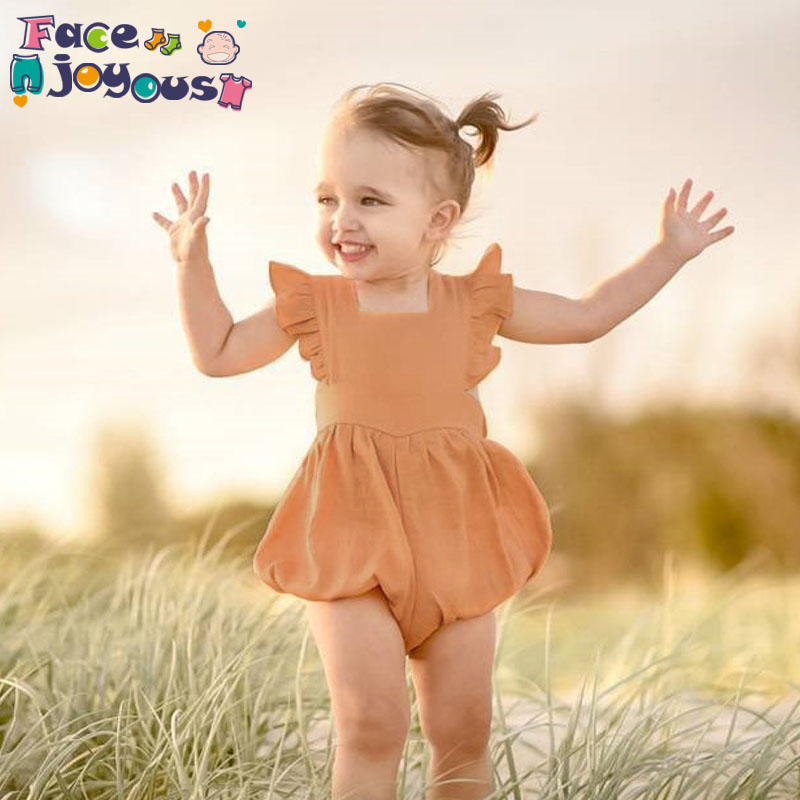 Baby Girl   Romper   Summer 2019 Newborn Girls Jumpsuit Baby Girls Cotton   Rompers   Boutique Clothes Infant Kids Costumes 0-2Y