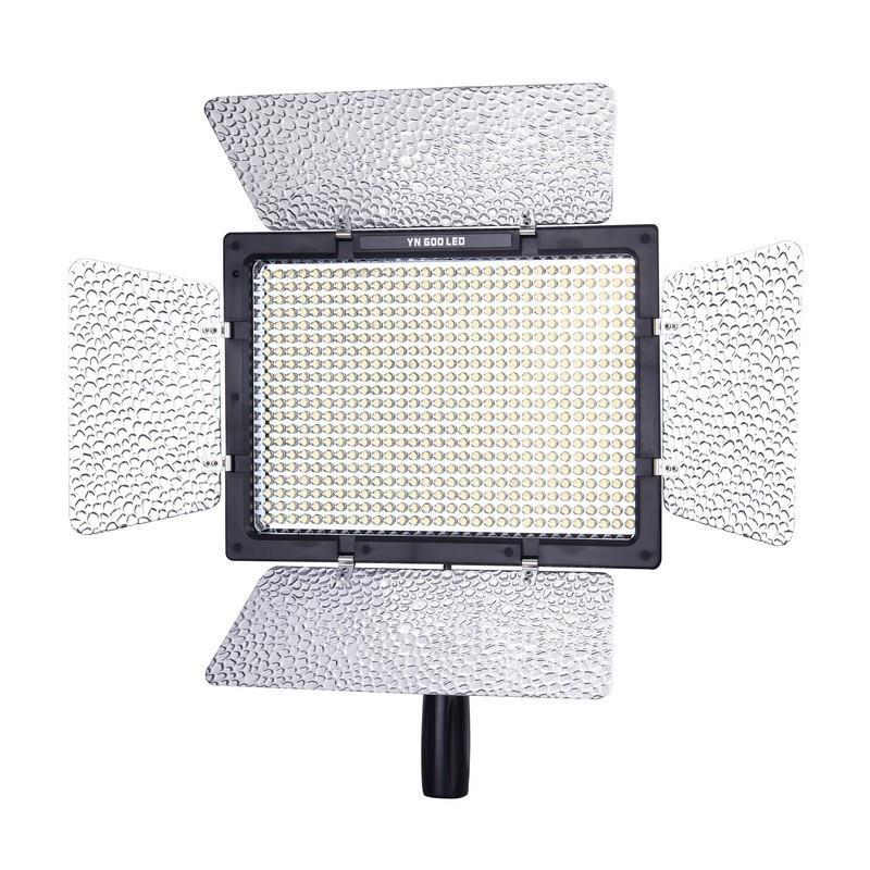 YONGNUO YN-600L YN600 600 LED Light Panel with wireless Remote Control YN600 5500K LED Video Light For DSLR CameraYONGNUO YN-600L YN600 600 LED Light Panel with wireless Remote Control YN600 5500K LED Video Light For DSLR Camera