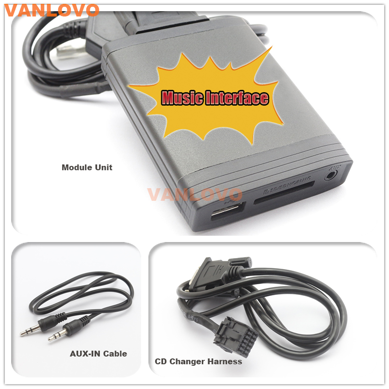 Yatour Digital Music Changer Aux Sd Usb Mp3 Adapter For Ford Focus Rhaliexpress: Ford Cd Changer Harness At Elf-jo.com