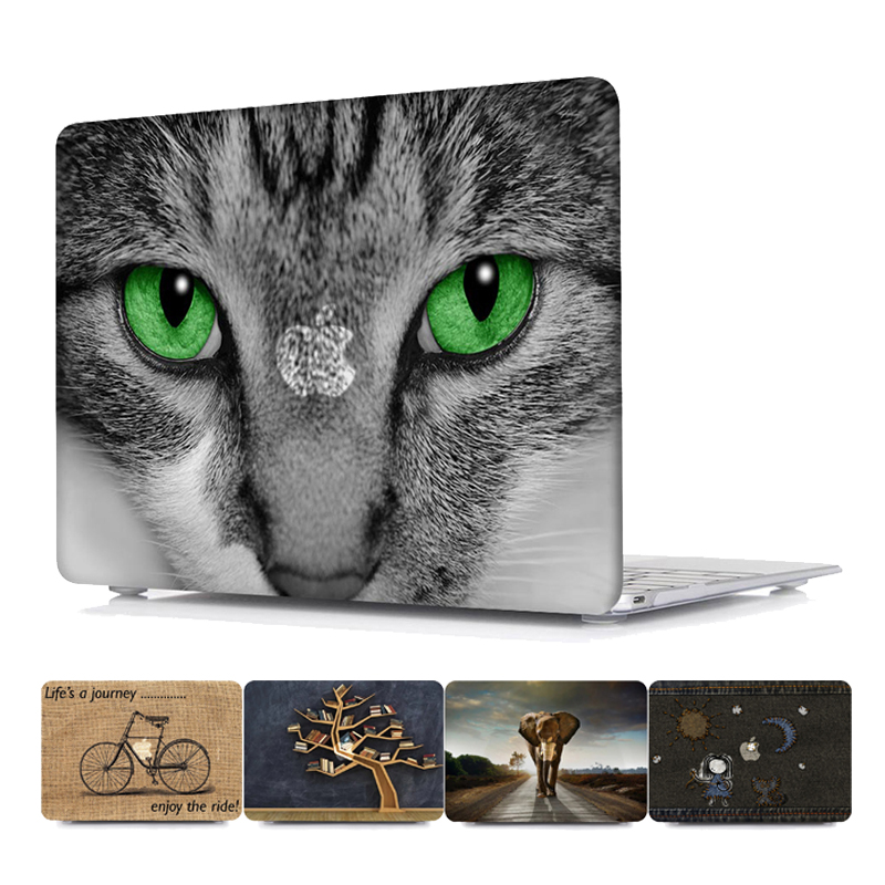 все цены на Cute Printed Pattern Hard Laptop Case for MacBook Air Pro Retina 11 12 13 15 Inch Case for Macbook A1707 A1706 A1708 Case онлайн