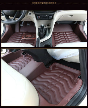 Myfmat custom foot leather car floor mats for FIAT Palio Weekend Siena Perla Viaggio Ottimo free shippin new styling pads rugs